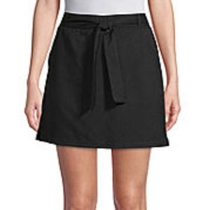 St John's Bay Black Swim Skort